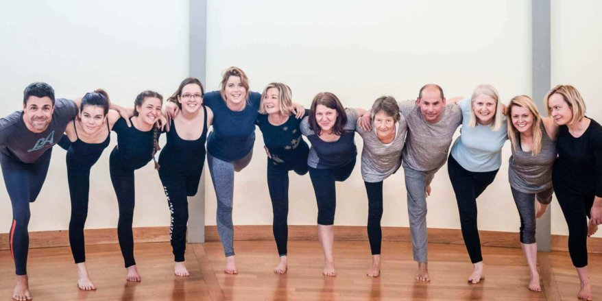 Yoga group from worcester