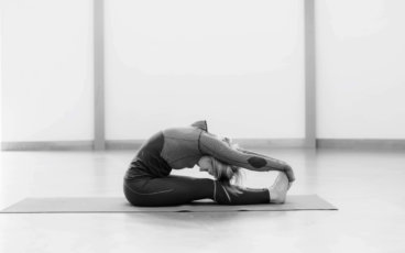 seated forward bend yoga 7